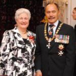 PHOTO of Dame Beverley Wakem (Chief Ombudsman) and The Right Hon. Lt. Gen. Sir Gerry (Governor General) Mateparae, regarding False Arrest - Wrongful Imprisonment Henry Alfred Goolsbee